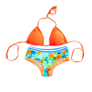 Isabelle de Paris - Pampa - Set Maillot orange - 12072